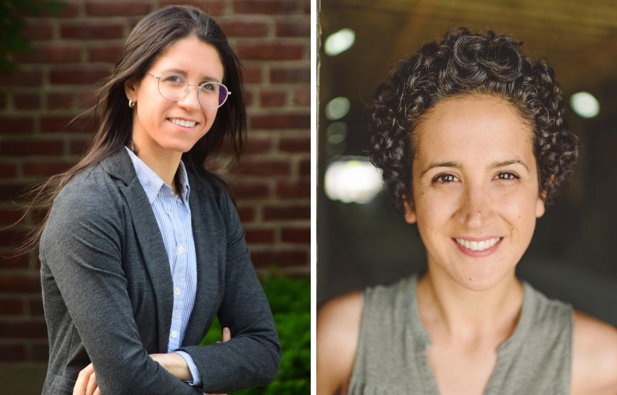 Allison Lopatkin and Christina Vizcarra (side by side headshots)