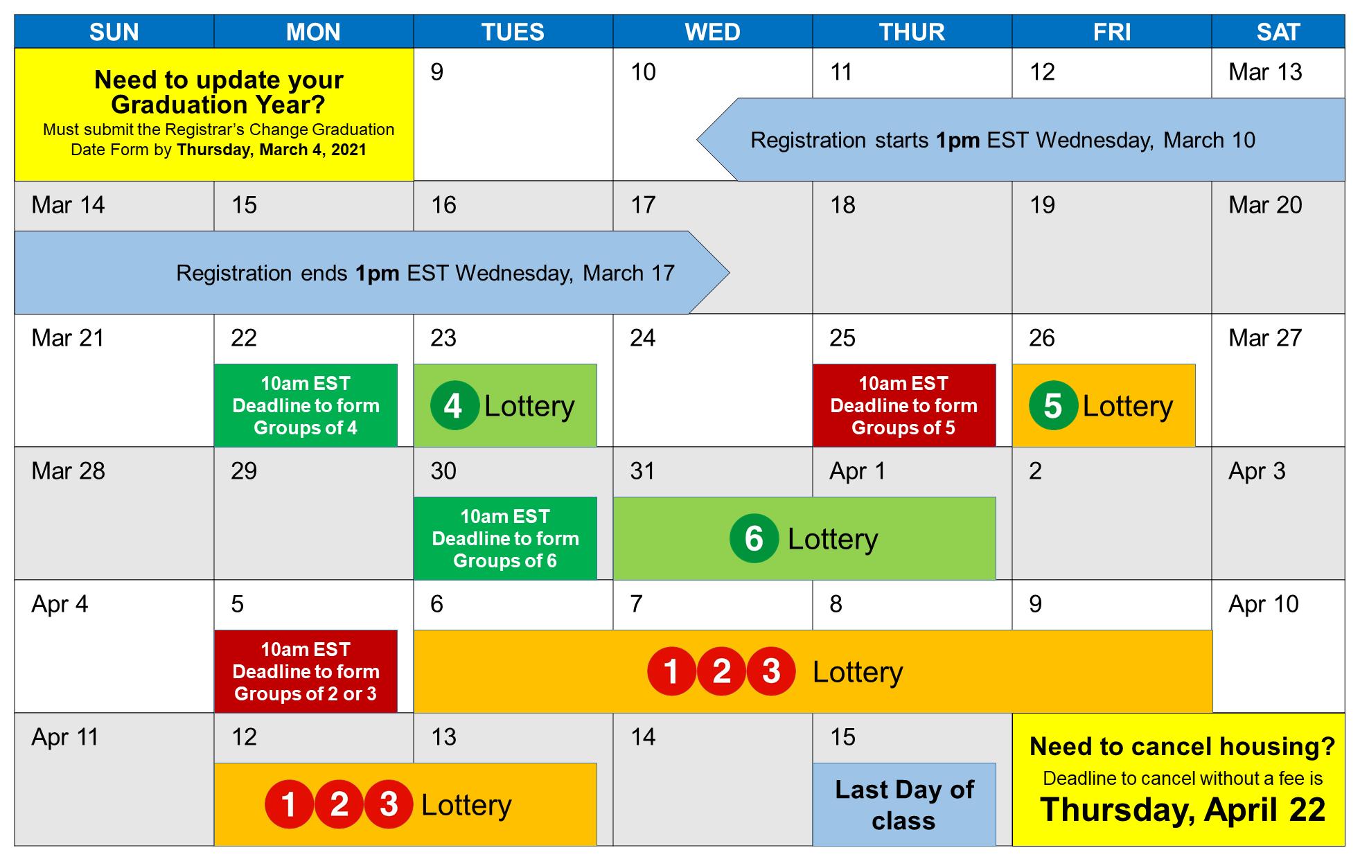 Room Selection Calendar
