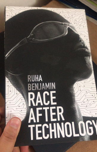 A photo of the Race After Technology book