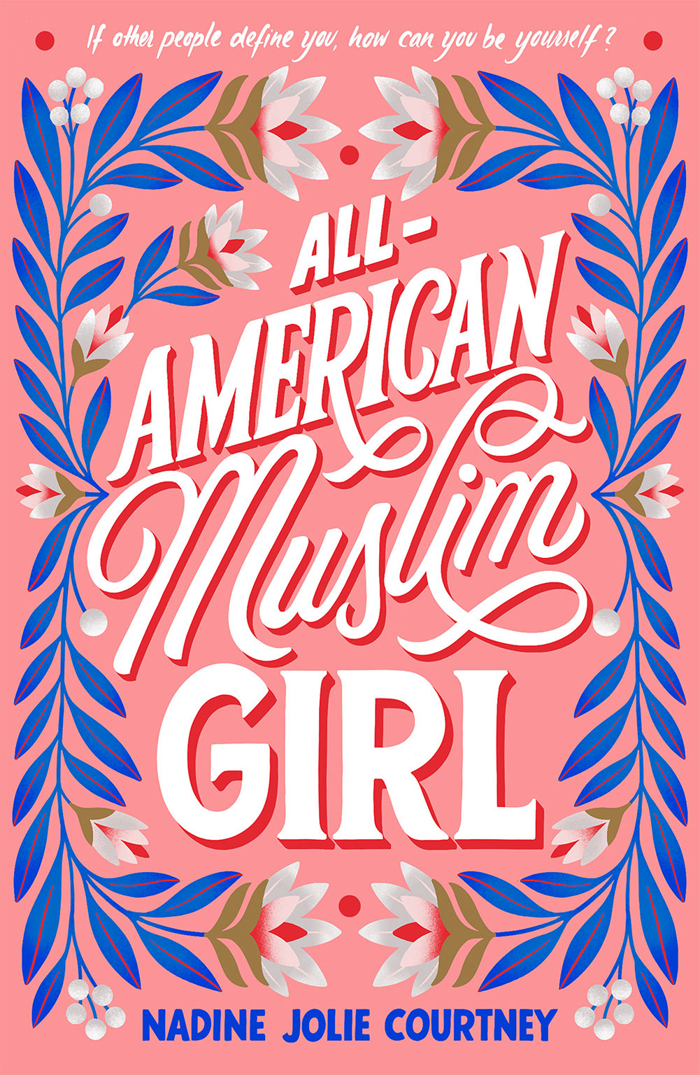 book cover, all american muslim girl