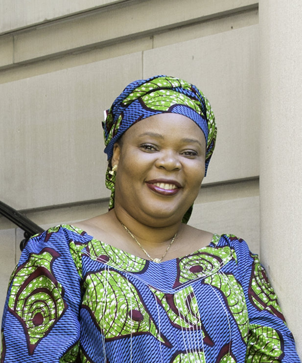 Photograph of Leymah Gbowee