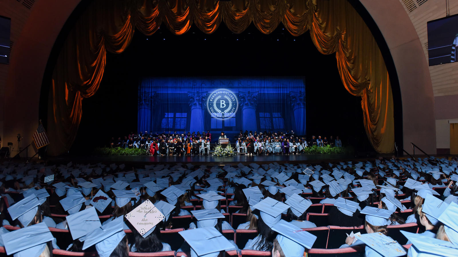 Commencement at radio city music hall