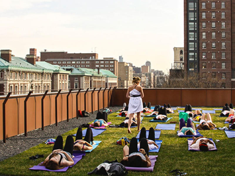 Yoga at the Diana Center