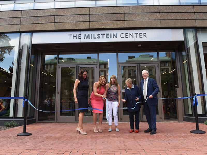 News/images/milstein Ribbon Cutting.jpg
